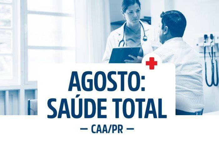 Programa Agosto: Saúde Total da CAA/PR já tem adesão de 45 Subseções da OAB