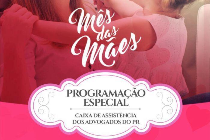 CAA-PR prepara programação especial para o mês das Mães