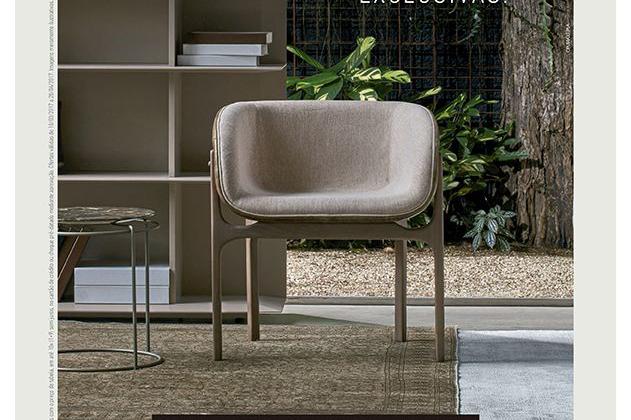 Design, sofisticação e peças exclusivas pautam nova campanha da Simmetria Ambienti criada pelo Grupo OM