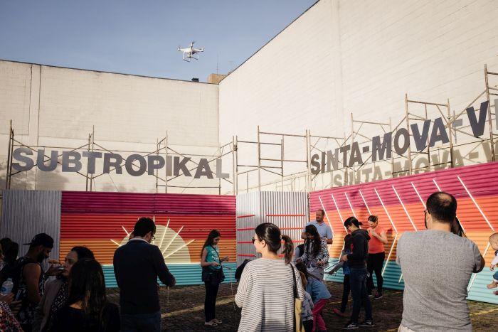 Oficinas marcam o maior festival de criatividade urbana do país