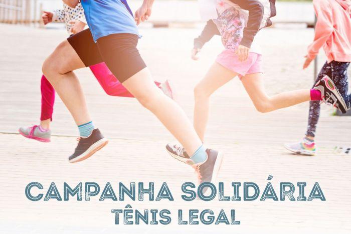 CAA/PR lança Campanha Solidária Tênis Legal
