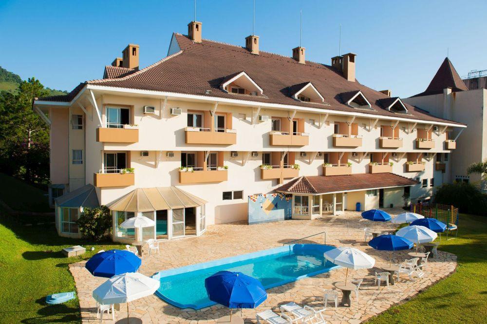 Nas férias de verão crianças não pagam no Thermas Piratuba Park Hotel