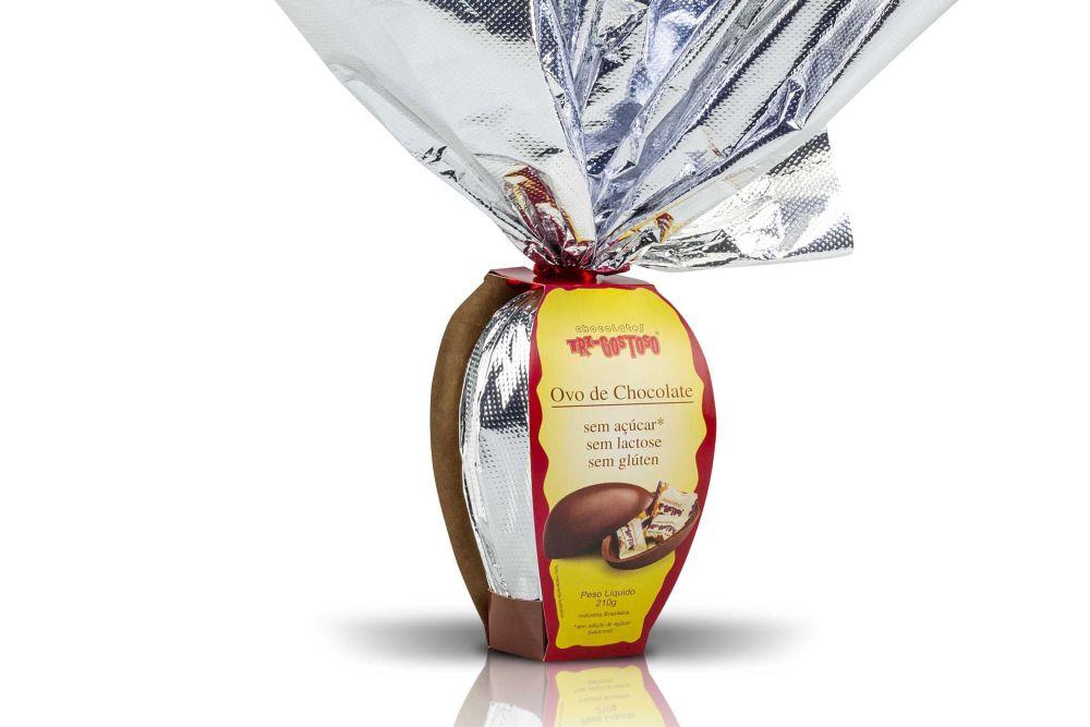 Pioneiro no mercado de chocolates com apelos nutricionais , Tri-Gostoso apresenta linha de Páscoa
