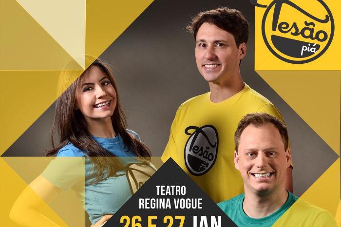 Tesão Piá se apresenta em curta temporada no Teatro Regina Vogue