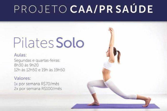 Inscrições abertas para aulas de yoga e pilates no Edifício Maringá